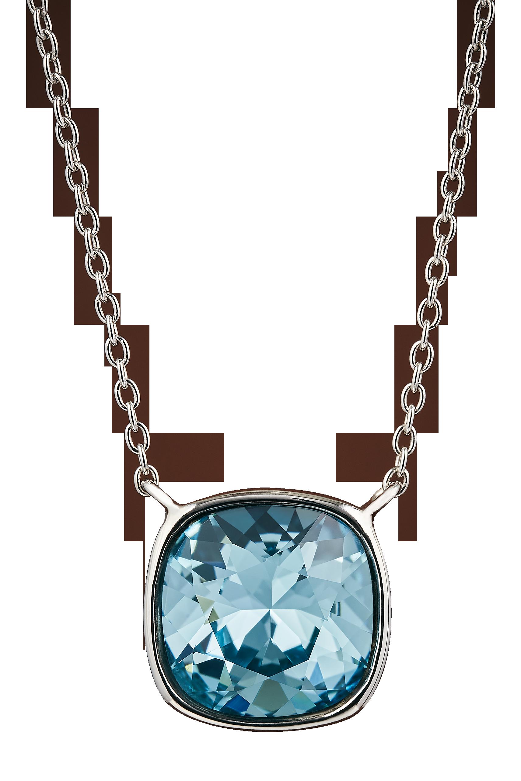 Collana Silver Aquamarine